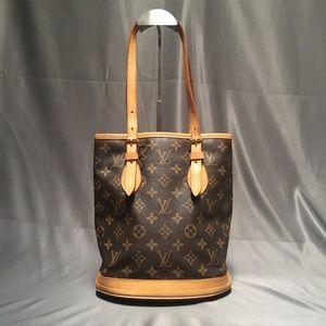Louis Vuitton Vintage Petit Bucket PM